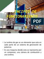 Principio de Funcionamiento Turbina de Gas