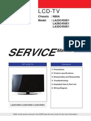 Data Eeprom LA22!26!32_C450E1   Electrical Engineering   Electronics