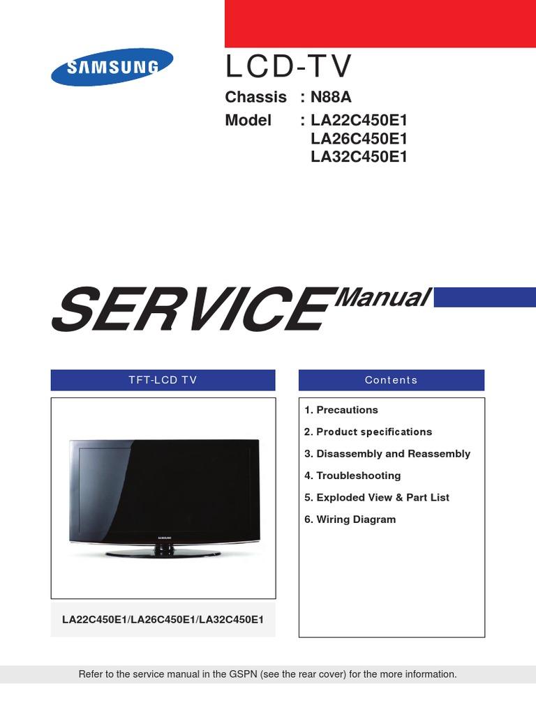 Free Download Service Manual Samsung Tv Various Owner Manual Guide
