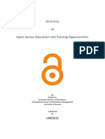 OpenAccess_Education and Training Opportunities_UNESCO