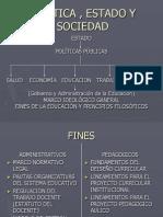 Politica , Estado y Sociedad