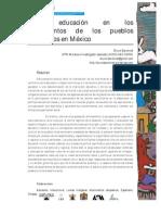 BARONETT BRUNO - La educación en los movimientos de los pueblos originarios de México.pdf