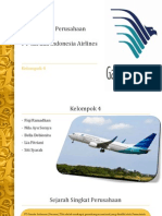 PT Garuda Indonesia Airlines PPT