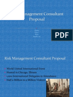 Risk Management Consultant Proposal