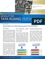 Newsletter Tata Ruang dan Pertanahan (TRP) Edisi 4/Bulan April 2014