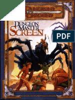 D&D 2nd Edition DM Screen