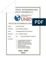 Determinacion de Colesterol (Imprimir)