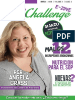 PCOS Challenge E-Zine March 2014 (En Español)