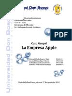 Caso Apple - Trabajo Grupal (Estrategias de Mercado)