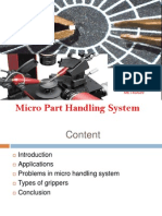 Micro Part Handling System