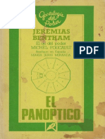 Bentham - El Panóptico