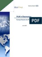 PLM in Electronics