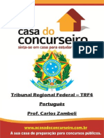 Apostila TRF4.2014 Portugues Zambeli