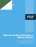 Glosario Artes Visuales y Nuevos Medios