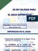 Aspectos Importantes en La Calidad Del Agua Superficial