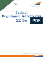 Jadwal KA Juni 2014