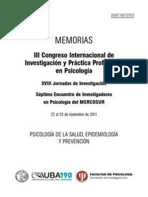 05 Psicología De La Salud Epidemiología Y Prevención