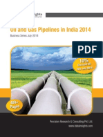 Oil and Gas Pipelines in India-2014