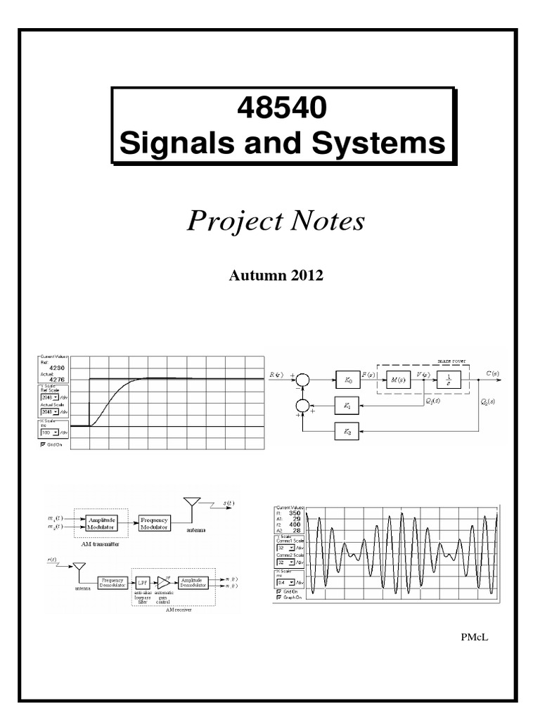 48540 Signals And Systems Project Notes Autumn 2012 Detector Lm565 Fsk Demodulator Circuit Design Electronic Components Circle Radio Modulation
