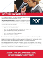 ADP's Leave Management Solutions