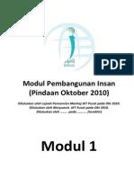 01 Modul 01 - Cadangan Pindaan 2010 Versi 1