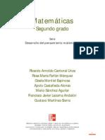 Cantoral Matemáticas 2do Libro