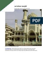 Doa Masuk & Keluar Masjid