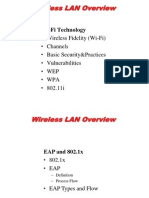 Wireless LAN 802.1X 01