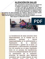 Municipalizacion de Salud