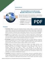 Acuerdos Básicos - Economía Basada en Recursos
