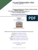 Anatomy of Ownership and Management of Public Land in Mumbai