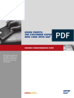 CRM Business Transformation Study Asian Paints