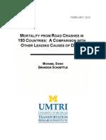 Estudio Discovery Mortality of Accidents Traficc
