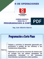 Programacion a Corto Plazo