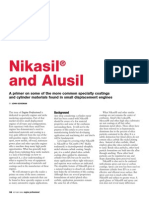 Nikasil and Alusil