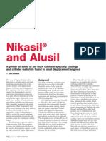 Nikasil and Alusil