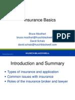 Basic of Insurance