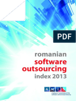 Romanian Software Outsourcing Index 2013