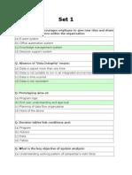 Management Information System MCQ'S