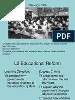 l2 educational reform
