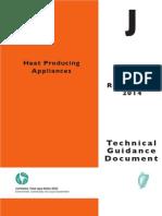 Part J Heat Producing Appliances 2014