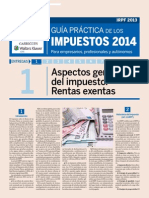 Guía Práctica de Los Impuestos 2014