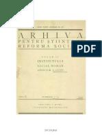 Ernest_Bernea_1932 Contributii La Problema Calendarului in Satul Cornova, 1932