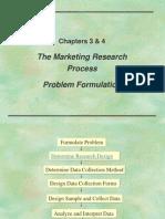 Problem Formulation in Mr