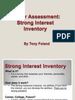 career assessment inventory standard 8
