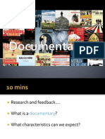 Documentary Modes