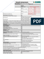 Savings account details
