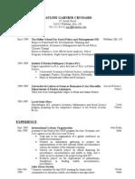 MIT Resume Pgc