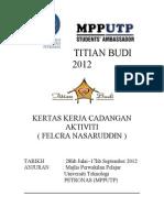 Proposal Titian Budi 2012