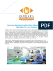 Eye Care Hospital in India Offer Affordable Super-Specialty Eye Care Service